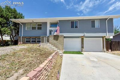 Fountain Single Family Home For Sale: 7345 Sugarloaf Terrace