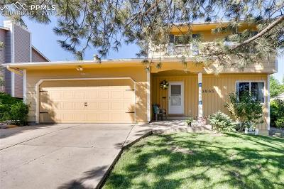 Colorado Springs Single Family Home Under Contract - Showing: 3665 San Pedro Court
