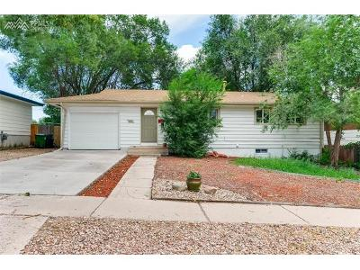 Colorado Springs Single Family Home For Sale: 1111 Holmes Drive