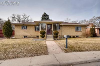 Colorado Springs Single Family Home For Sale: 130 Fox Avenue