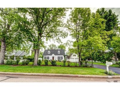 Colorado Springs Single Family Home For Sale: 36 Elm Avenue