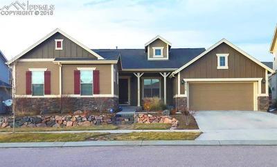 Colorado Springs Single Family Home For Sale: 6116 Revelstoke Drive