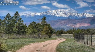 Colorado Springs Residential Lots & Land For Sale: 2210 Old Ranch Road