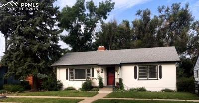 Central Single Family Home For Sale: 918 N Institute Street