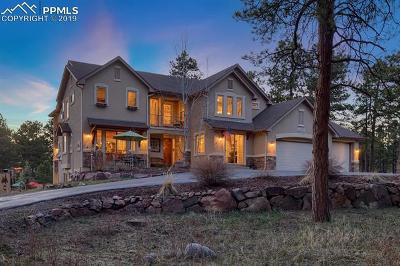 Colorado Springs Single Family Home For Sale: 16182 Timber Meadow Drive
