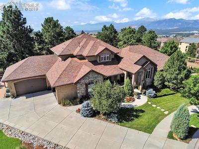Colorado Springs Single Family Home For Sale: 1659 Oakmont Drive