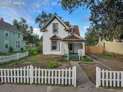 Single Family Home For Sale: 1616 W Pikes Peak Avenue