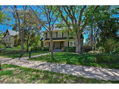 El Paso County Single Family Home For Sale: 1306 Wood Avenue