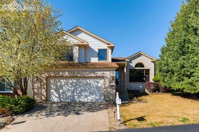 Colorado Springs Single Family Home Under Contract - Showing: 4926 Galileo Drive