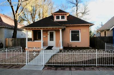 Colorado Springs Single Family Home Under Contract - Showing: 919 E St Vrain Street