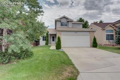 Colorado Springs Single Family Home For Sale: 5126 Herndon Circle