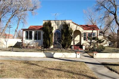 Colorado Springs Single Family Home For Sale: 1830 W Pikes Peak Avenue
