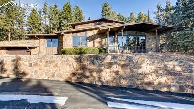 Woodland Park Single Family Home For Sale: 100 Apache Trail