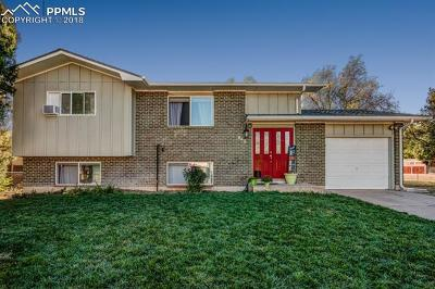 Colorado Springs CO Single Family Home For Sale: $254,900