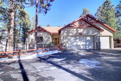 Woodland Park Single Family Home For Sale: 1371 Evergreen Heights Drive