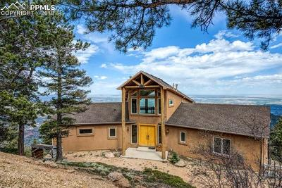 Manitou Springs Single Family Home For Sale: 6928 Lady Bug Lane