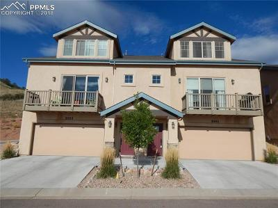 Colorado Springs Condo/Townhouse For Sale: 5955 Canyon Reserve Heights