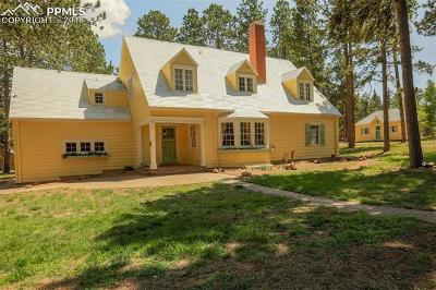 Woodland Park Single Family Home For Sale: 301 W Gunnison Avenue