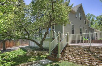 Manitou Springs Single Family Home For Sale: 607 Manitou Avenue