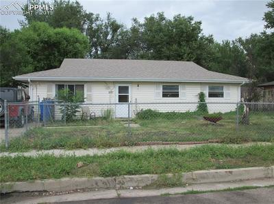 El Paso County Single Family Home For Sale: 217 Robin Street