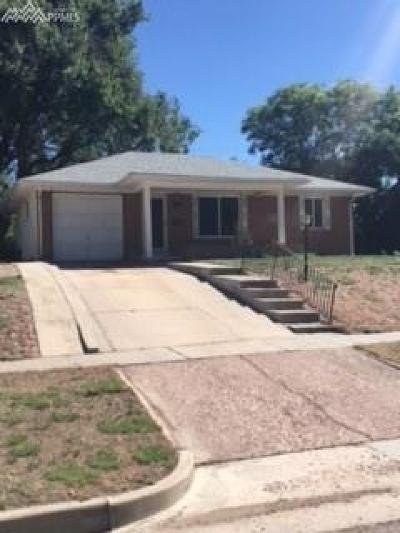 Colorado Springs CO Single Family Home For Sale: $220,000