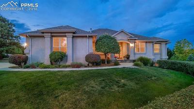 Colorado Springs Single Family Home For Sale: 2222 Collegiate Drive