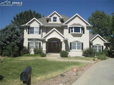 Pueblo Single Family Home For Sale: 4715 Scarlet Sage Drive