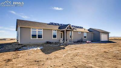 Fountain Single Family Home For Sale: 17725 High Plains View