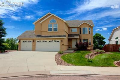 Colorado Springs Single Family Home For Sale: 763 Fox Run Circle