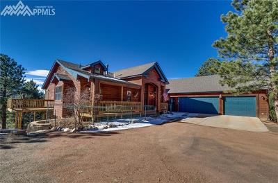 Woodland Park CO Single Family Home For Sale: $690,000