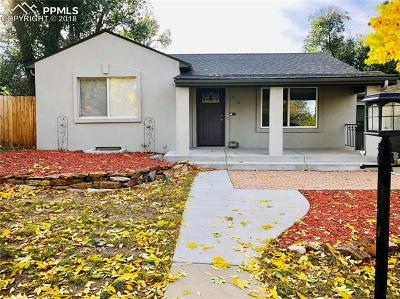 Single Family Home For Sale: 124 N Sheridan Avenue