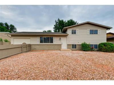 Fountain Single Family Home For Sale: 2140 El Vereda Drive