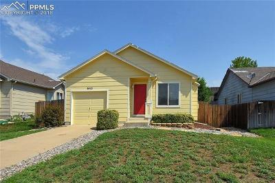 Colorado Springs Single Family Home For Sale: 5412 Hicks Drive