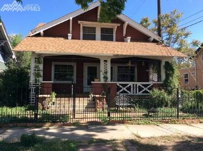 El Paso County Rental For Rent: 214 E St Vrain Street #1