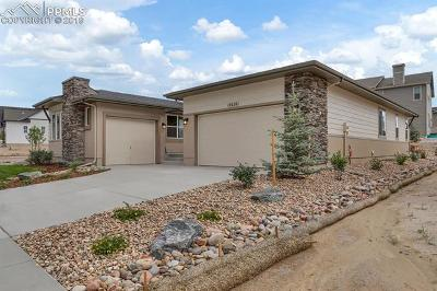 Colorado Springs Single Family Home For Sale: 12626 Pensador Drive