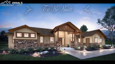 Calhan Single Family Home For Sale: 18385 Prairie Coach View