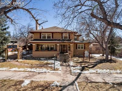 Colorado Springs Single Family Home For Sale: 311 N Logan Avenue
