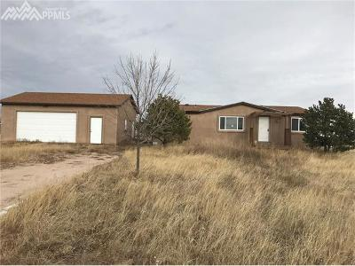 Peyton Single Family Home For Sale: 15035 Wagon Trail