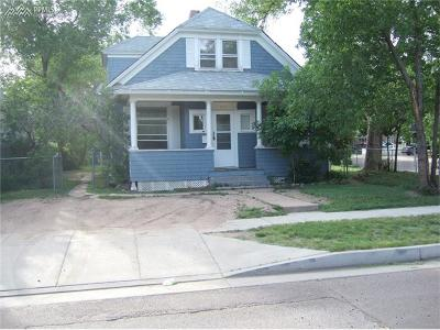 Colorado Springs Single Family Home For Sale: 200 S 16th Street