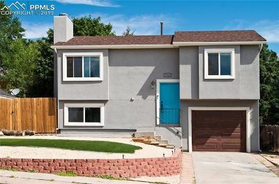 Colorado Springs Single Family Home For Sale: 5560 Sacramento Place