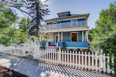 Colorado Springs Single Family Home For Sale: 1402 N Weber Avenue