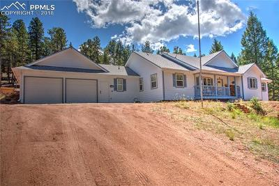 Woodland Park Single Family Home For Sale: 16 Spruce Circle