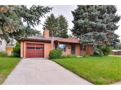 Colorado Springs Single Family Home For Sale: 2903 Illinois Avenue