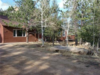 Manitou Springs Single Family Home For Sale: 6240 Waterfall Loop