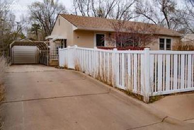 Old Colorado City Single Family Home For Sale: 1506 W St Vrain Street