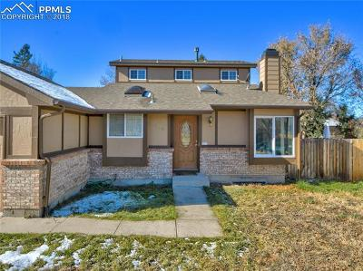 Colorado Springs CO Single Family Home For Sale: $249,900
