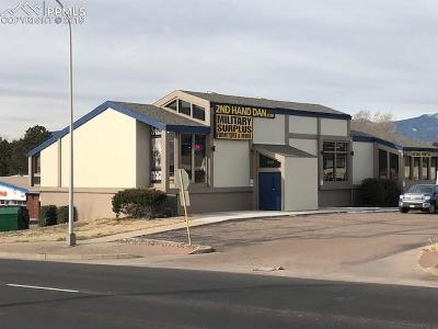 Colorado Springs Commercial For Sale: 1808 N Academy Boulevard