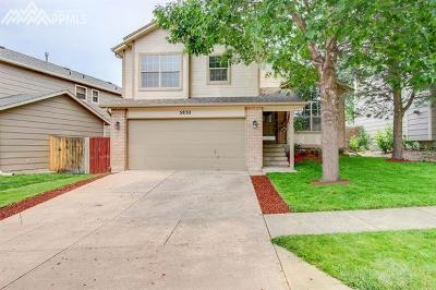 Single Family Home For Sale: 5835 Corinth Drive