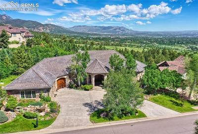 Colorado Springs Single Family Home For Sale: 4691 Stone Manor Heights