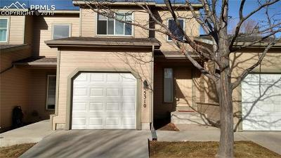 El Paso County Rental For Rent: 5310 Sunshade Point